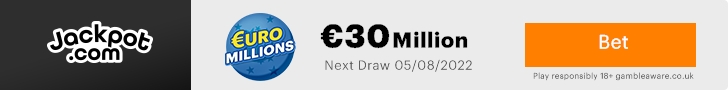 EuroMillion Lottery Games Online